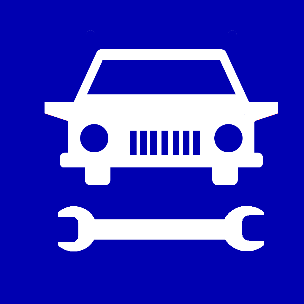 汽车保养标志图片
